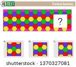 iq test practical questions  ...   Shutterstock .eps vector #1370327081