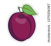illustration of juicy stylized... | Shutterstock .eps vector #1370336387