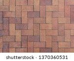 The Texture Of The Paved Tile...