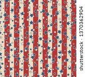 american patriotic stars and... | Shutterstock . vector #1370362904