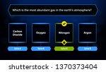 quiz infographics  quiz game... | Shutterstock .eps vector #1370373404
