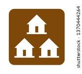 brown group center cabins... | Shutterstock . vector #1370444264