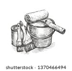 construction repair  tools... | Shutterstock .eps vector #1370466494