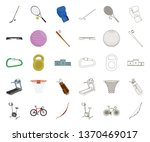 different kinds of sports... | Shutterstock .eps vector #1370469017