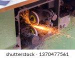 mechanical stone for sharpening ...   Shutterstock . vector #1370477561