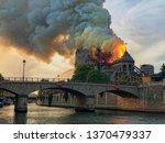 Paris  France   April 15  2019...