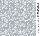 floral seamless pattern with... | Shutterstock .eps vector #1370484761