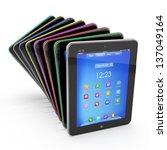set of tablet pcs | Shutterstock . vector #137049164