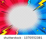 comic style picture frame for... | Shutterstock .eps vector #1370552381
