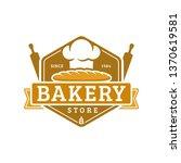 bakery logo template  vector...   Shutterstock .eps vector #1370619581