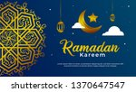 ramadan kareem banner poster... | Shutterstock .eps vector #1370647547