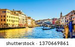 Famous Rialto Bridge In Venice...