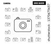 camera line icon for web  print ...