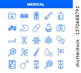 health  line icons set for...