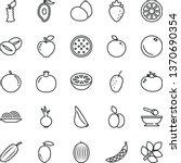 thin line vector icon set  ...   Shutterstock .eps vector #1370690354