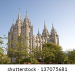The Salt Lake Temple Is Locate...