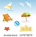 objects | Shutterstock .eps vector #137075879