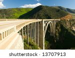 Bir Sur coastline in California - stock photo