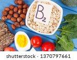 nutritious ingredients... | Shutterstock . vector #1370797661