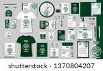 corporate branding identity... | Shutterstock .eps vector #1370804207