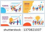 vector concept business... | Shutterstock .eps vector #1370821037