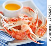 Boiled Crab Claws With Orange...