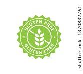 gluten free label vector icon   Shutterstock .eps vector #1370832761