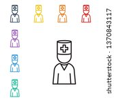 line illustration of eight...   Shutterstock .eps vector #1370843117