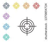 line illustration of eight... | Shutterstock .eps vector #1370854724