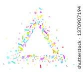 sprinkles grainy. cupcake... | Shutterstock .eps vector #1370907194