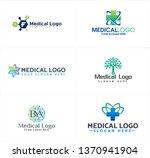 blue black green line art...   Shutterstock .eps vector #1370941904