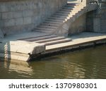image of the stone embankment... | Shutterstock . vector #1370980301