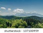 Carpathian Mountains Scenery