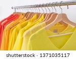 fashionable colorful clothing... | Shutterstock . vector #1371035117