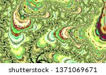 beautiful abstract background...   Shutterstock . vector #1371069671