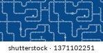horizontal industrial seamless... | Shutterstock .eps vector #1371102251