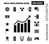 social media rewards rating... | Shutterstock .eps vector #1371104714