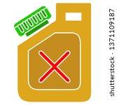 canister of gasoline | Shutterstock .eps vector #1371109187