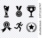 award sport flat icons  winner... | Shutterstock .eps vector #1371116747