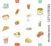 food images. background for... | Shutterstock .eps vector #1371159281