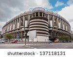 madrid  spain may 1 santiago...   Shutterstock . vector #137118131