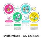 cleaning methods vector... | Shutterstock .eps vector #1371236321