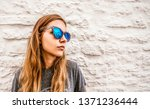 close up shot of stylish... | Shutterstock . vector #1371236444