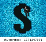 big data privacy and security...   Shutterstock . vector #1371247991