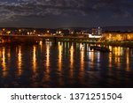 view of the city of koblenz ... | Shutterstock . vector #1371251504