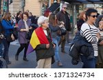 valencia  spain   april  13 ... | Shutterstock . vector #1371324734