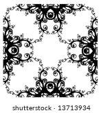 abstract digital background... | Shutterstock . vector #13713934