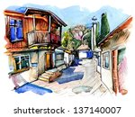 Original Watercolor Painting O...