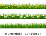 three nature backgrounds of... | Shutterstock .eps vector #137140514