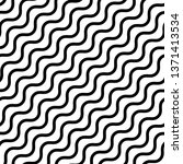 wavy  waving lines abstract... | Shutterstock .eps vector #1371413534